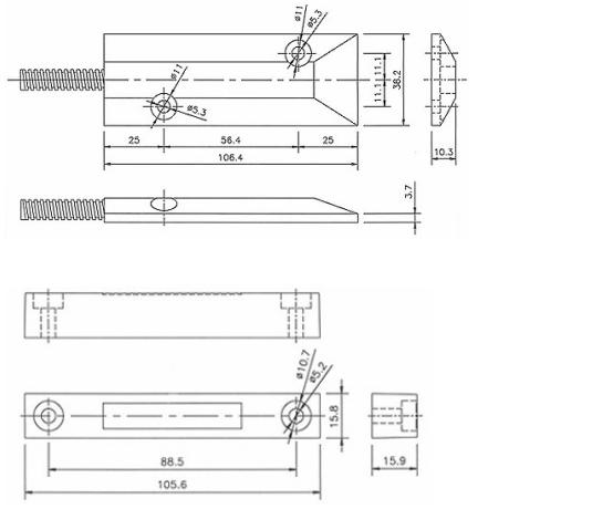 RZ-55 热销款卷帘门磁
